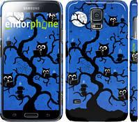 "Чехол на Samsung Galaxy S5 Duos SM G900FD Совы на дереве ""2374c-62"""