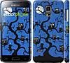 "Чехол на Samsung Galaxy S5 mini G800H Совы на дереве ""2374c-44"""