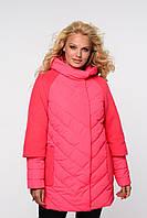 Яркая длинная женская куртка, фото 1
