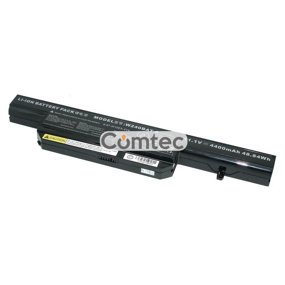 ОРИГИНАЛЬНЫЙ! Аккумулятор для ноутбука DNS W240BAT-6 Clevo W240 11.1V черный 4400 mAh