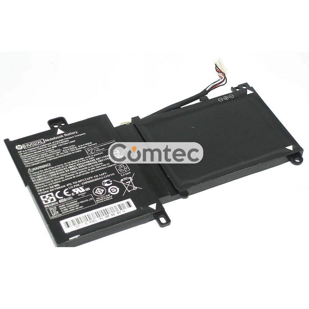 ОРИГИНАЛЬНЫЙ! Аккумулятор для ноутбука HP Compaq HV02XL Pavilion 11-k 7.6V черный 4000 mAh
