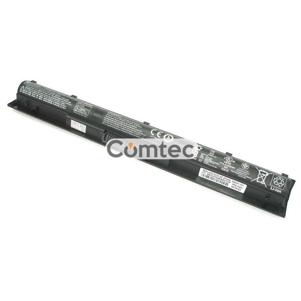 ОРИГИНАЛЬНЫЙ! Аккумулятор для ноутбука HP Compaq KI04 Pavilion 14 14.8V черный 2700 mAh