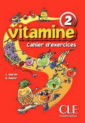 Vitamine 2 Cahier d`exercices + CD audio + portfolio (Робочий зошит), фото 2