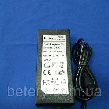 Зарядное устройство для гироборда 42в 2А