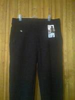 Шерстяные брюки женские на меху с карманами 4ХЛ (50-54)
