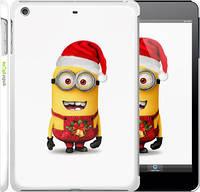 """Чехол на iPad mini Миньоны. Рождество """"1485c-27"""""""