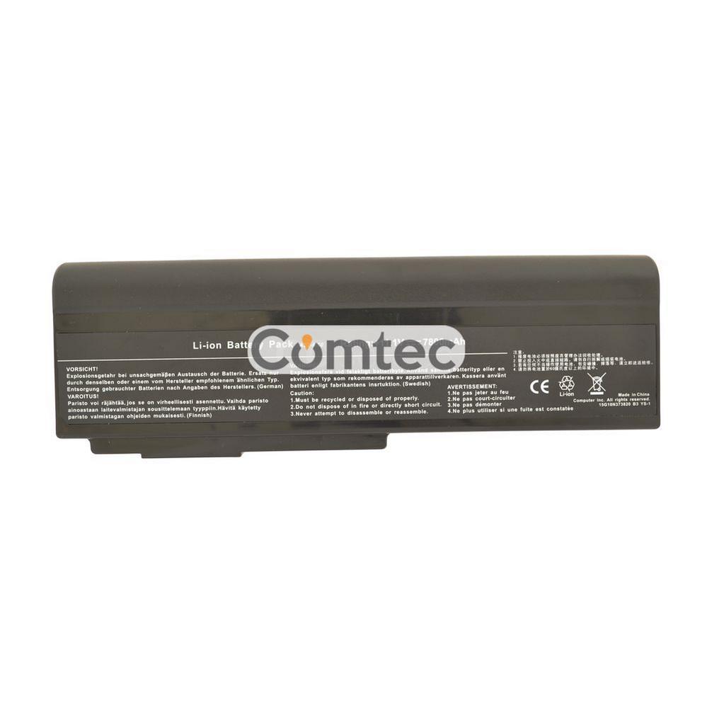 УСИЛЕННЫЙ! аккумулятор для ноутбука Asus A32-M50 11.1V черный 7800 mAh