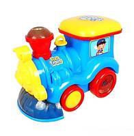 Музыкальный Паровозик Fun Train ZR 122 музыкальная игрушка для самых маленьких