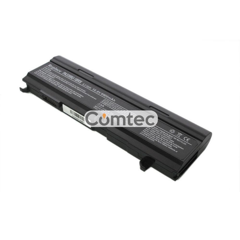 УСИЛЕННЫЙ! аккумулятор для ноутбука Toshiba PA3399U Satellite A105 10.8V черный 7800 mAh