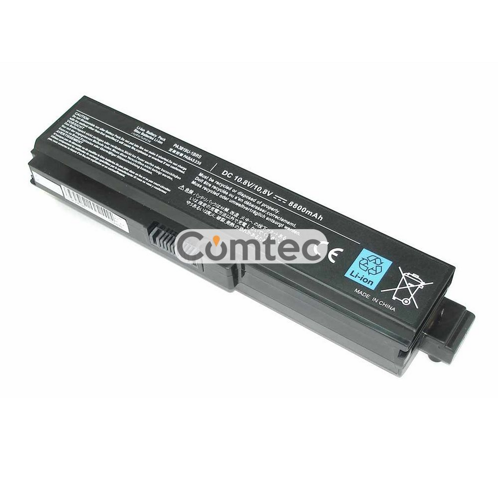 УСИЛЕННЫЙ! аккумулятор для ноутбука Toshiba PA3636U-1BRL Satellite U400 10.8V черный 8800 mAh