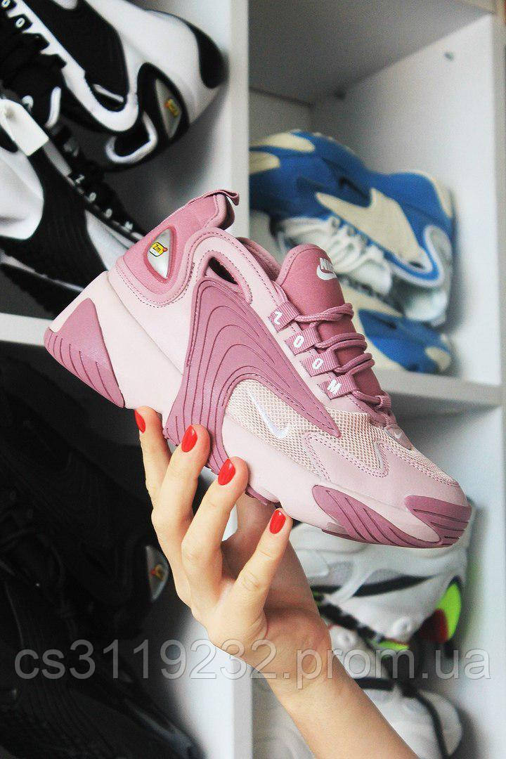 Женские кроссовки  Nike Zoom 2k (сиреневые)