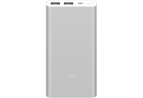 Бездротовий портативний акумулятор Power bank Xiaomi Mi 2S 10000mAh Silver , Оригінал