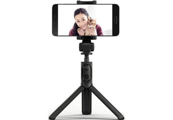 Монопод для селфи Xiaomi Mi Selfie Stick Tripod Black , Оригинал