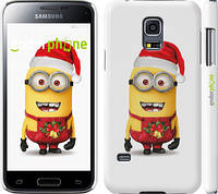 "Чехол на Samsung Galaxy S5 mini G800H Миньоны. Рождество ""1485c-44"""