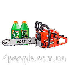 Бензопила цепная Foresta FA-40S + Цепь + 2 масла|СКИДКА ДО 10%|ЗВОНИТЕ