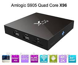 X96 Android Tv Box smart смарт тв приставка андроид 6.0 для телевизора WiFI