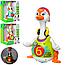 Музыкальная игрушка танцующий Гусь 828 игрушка для малышей, фото 2