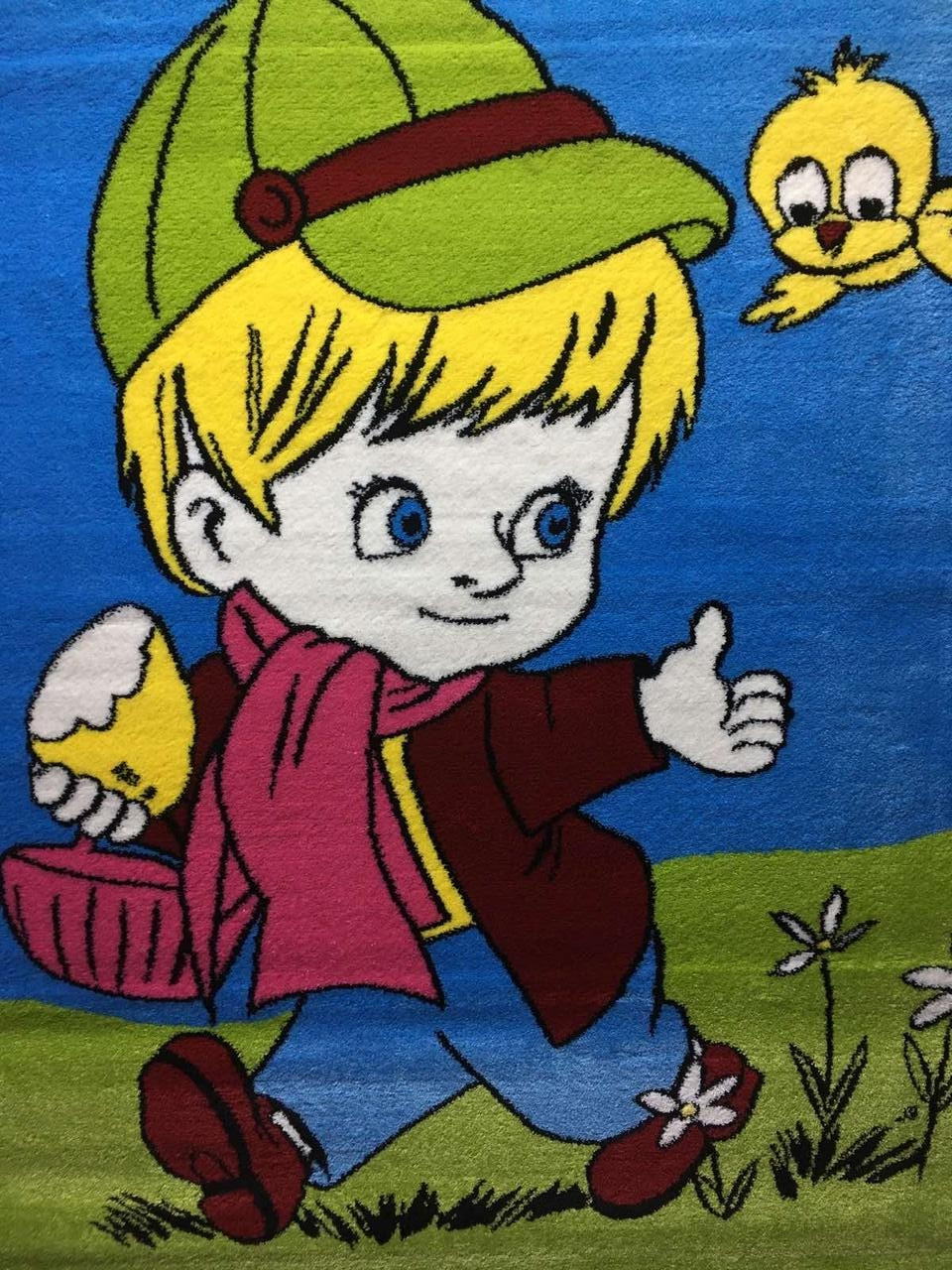 "Детский ковер Кидс ""Kids"", размер 1,25*2м/ 1,33*1,9м"
