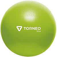Мяч гимнастический Torneo, 55 см, Зелёный