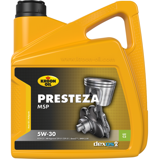 Моторное масло Kroon Oil PRESTEZA MSP 5W30 (4л)