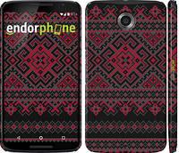 """Чехол на Motorola Nexus 6 Вышиванка 52 """"1763c-67"""""""
