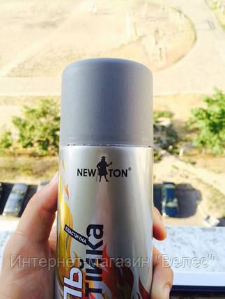 Эмаль термостойкая Newton Антрацит 400мл, фото 2