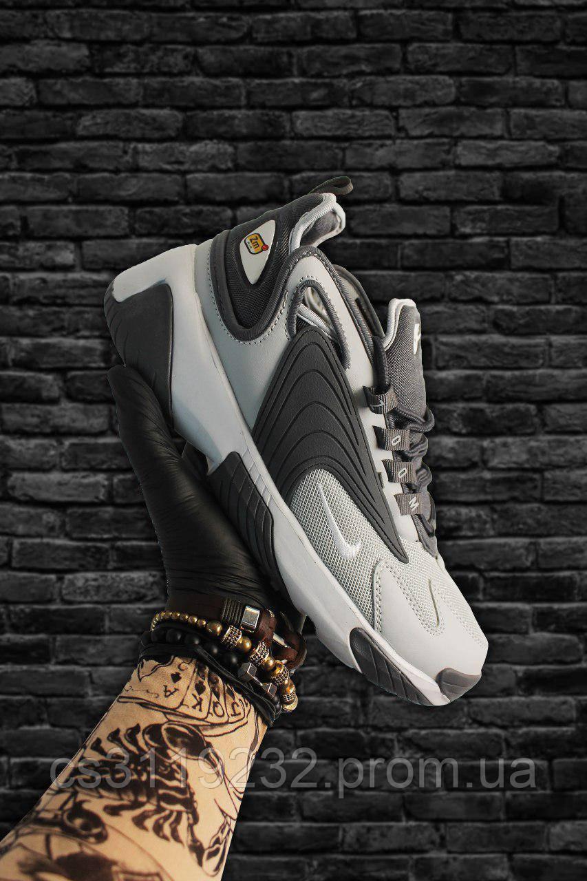 Мужские кроссовки Nike Zoom 2k Grey (серый)