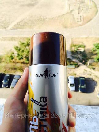 Эмаль жаростойкая (термостойкая) Newton Коричневая 400мл, фото 2