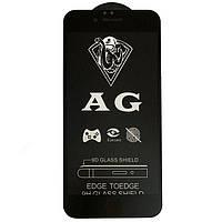 Защитное стекло Full Glue Matte для Apple iPhone 6 / Apple iPhone 6s - Black