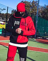 Теплый Спортивный костюм в стиле  на флисе, фото 1