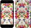 """Чехол на iPhone 6 Plus Цветочный узор """"1083c-48"""""""