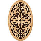 Органайзер для бісеру з дерев'яною кришкою FLZB-055, розм ,12*19.5см, фото 2
