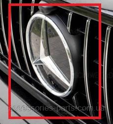 Эмблема решетки радиатора Mercedes-Benz G-Class W463/ W464 Новая Оригинальная