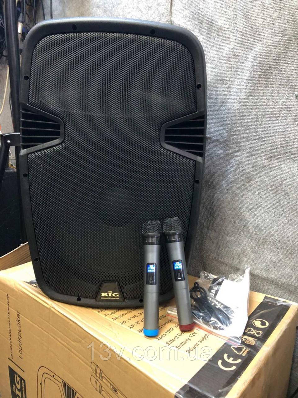 Автономна акустична система BIG JB15RECHARG400+MP3/FM/Bluetooth+DC-DC INVERTOR