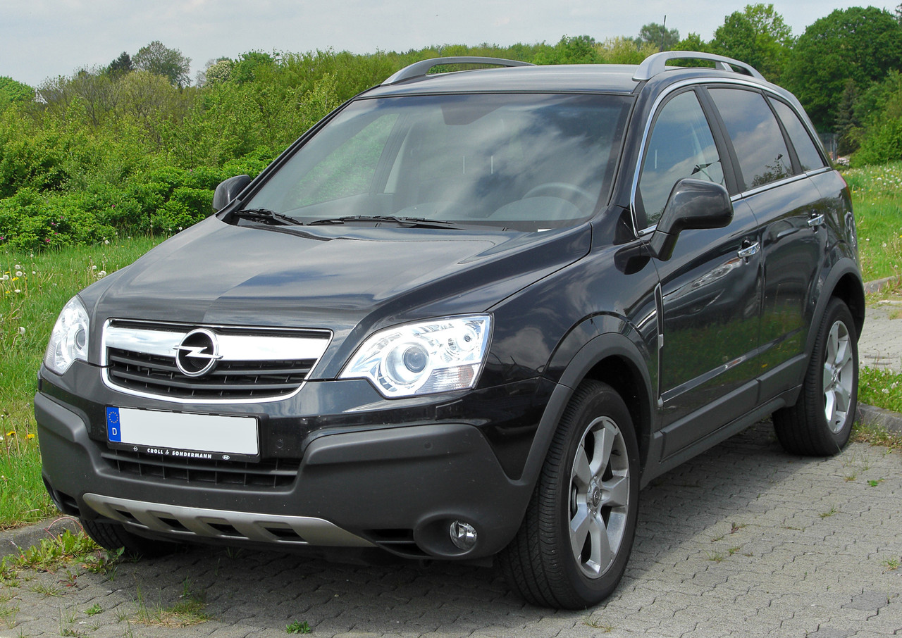 Разборка Opel Antara