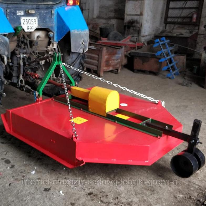 Косилка-измельчитель усиленная Нива 2 м с опорным колесом (Украина)