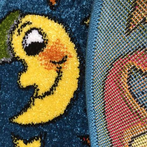 Коврик детский Kolibry Ночь 67×67см, фото 2