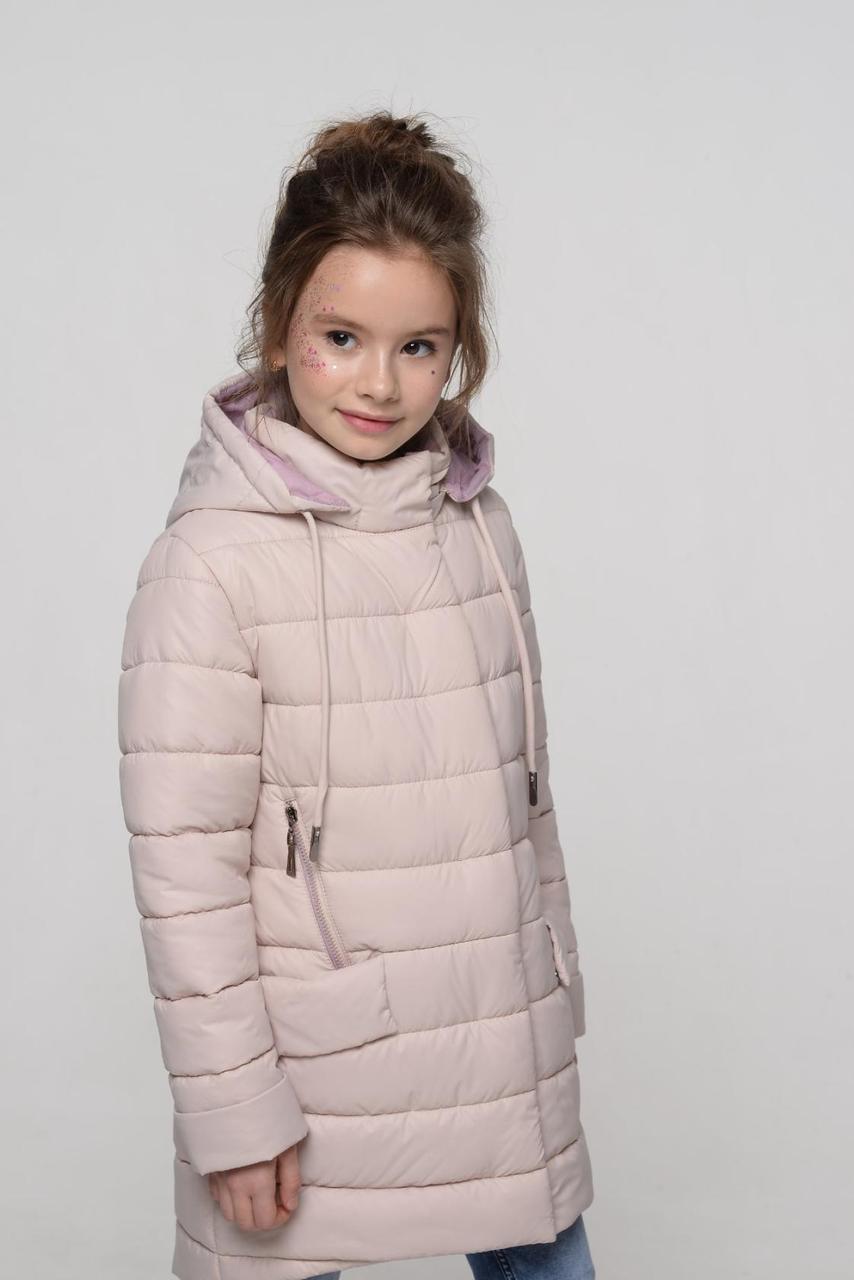 Длинная курточка для девочек