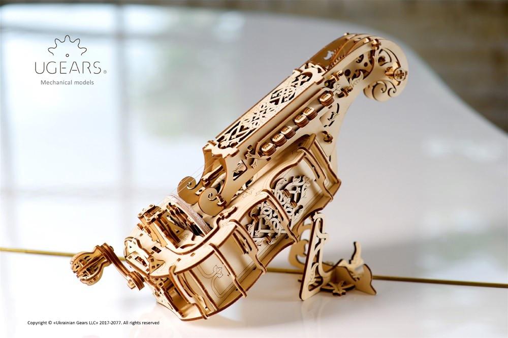 Харди-Гарди | UGEARS | Механический 3D конструктор из дерева