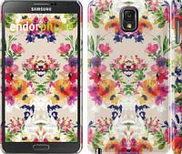 "Чехол на Samsung Galaxy Note 3 N9000 Цветочный узор ""1083c-29"""