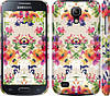 "Чехол на Samsung Galaxy S4 mini Цветочный узор ""1083c-32"""