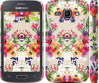"""Чехол на Samsung Galaxy Ace 3 Duos s7272 Цветочный узор """"1083c-33"""""""