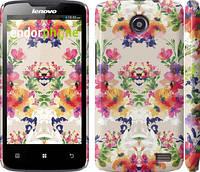 """Чехол на Lenovo A820 Цветочный узор """"1083c-68"""""""