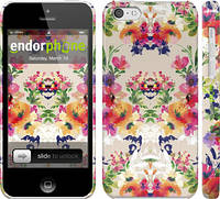 """Чехол на iPhone 5c Цветочный узор """"1083c-23"""""""