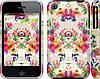 """Чехол на iPhone 3Gs Цветочный узор """"1083c-34"""""""