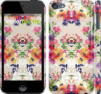 "Чехол на iPod Touch 5 Цветочный узор ""1083c-35"""