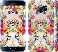 """Чехол на Samsung Galaxy S6 G920 Цветочный узор """"1083c-80"""""""