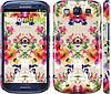 """Чехол на Samsung Galaxy S3 Duos I9300i Цветочный узор """"1083c-50"""""""