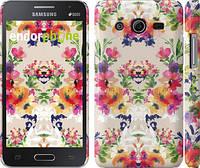 """Чехол на Samsung Galaxy Core 2 G355 Цветочный узор """"1083c-75"""""""