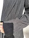 Женский стильный черный жакет. пиджак для девушки, фото 7